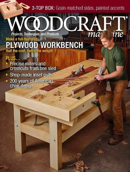 Woodcraft Magazine №90 August-September 2019 USA