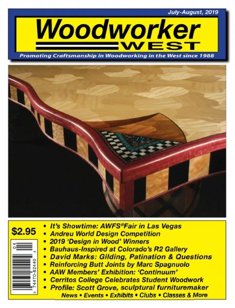 Woodworker West №4 (July-August 2019)