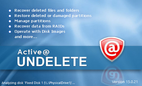 Active UNDELETE Ultimate 15.0.21