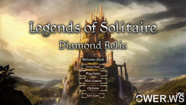 скриншот игры Legends of Solitaire 3: Diamond Relic