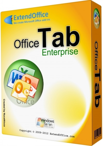 Office Tab Enterprise Edition